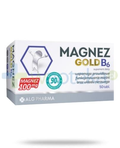 Alg Pharma Magnez Gold B6 100mg 50 tabletek