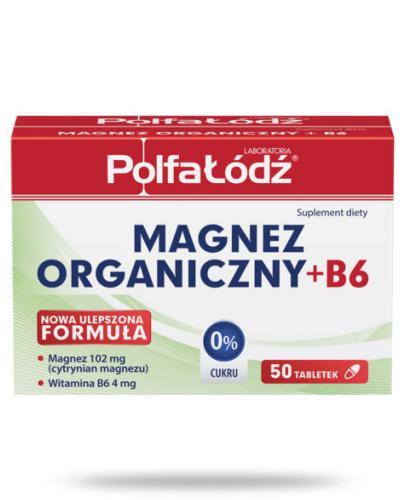 Magnez organiczny + B6 Laboratoria Polfa Łódź 50 tabletek