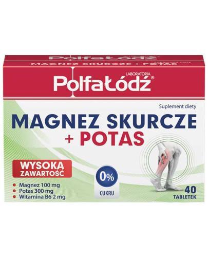 Magnez Skurcze + Potas Laboratoria Polfa Łódź 40 tabletek