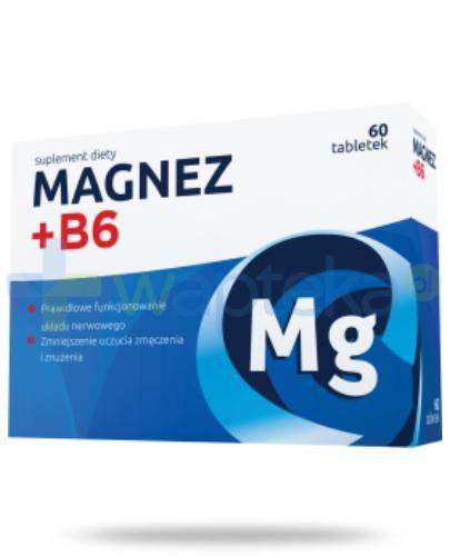 Nordfarm Magnez + witamina B6 60 tabletek