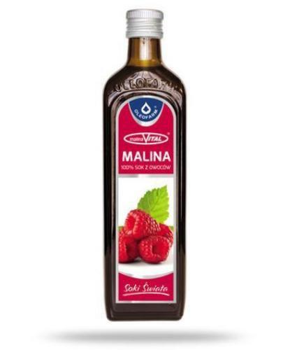 Malina 100% sok malinaVital 490 ml