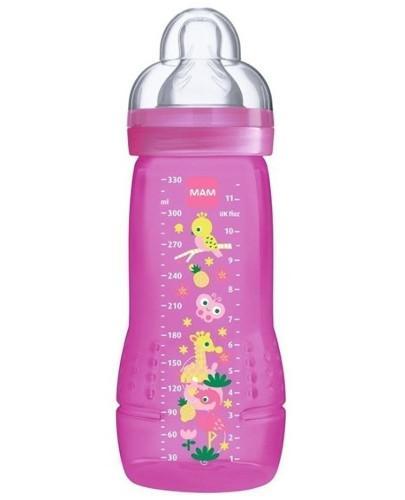 MAM Easy Active butelka 4m+ 330 ml ze smoczkiem przepływ 3 szybki 1 sztuka