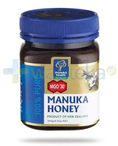 Manuka Health MGO 30+ miód manuka 250 g + lizak z miodem manuka i propolisem [GRATIS] - Data ważności 12-01-2018