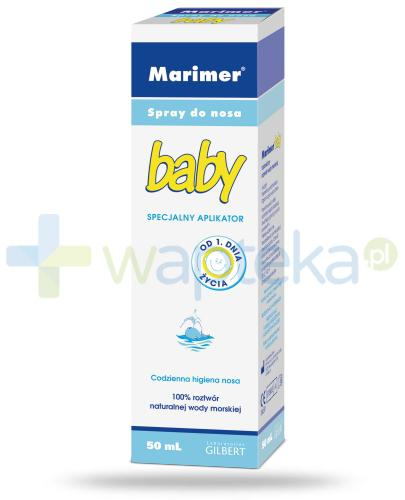 Marimer Baby izotoniczny spray do nosa 50 ml