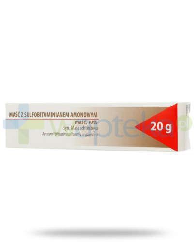Maść ichtiolowa (z sulfobituminianem amonowym) 20 g Hasco