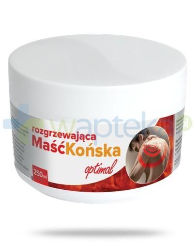 Maść końska rozgrzewająca Optimal 250 ml AlpePharma