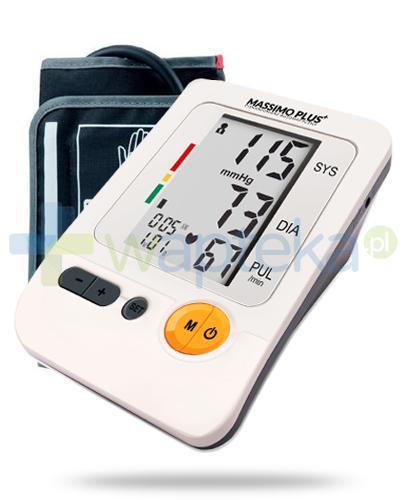Massimo Plus ciśnieniomierz automatyczny naramienny z zasilaczem 1 sztuka