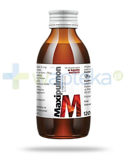 MaxiPulmon 3mg/ml syrop 120 ml