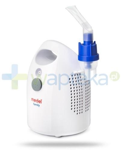 Medel Family inhalator pneumatyczno tłokowy dla całej rodziny 1 sztuka + torba Medel GRATIS