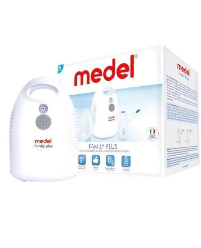 Medel Family Plus inhalator pneumatyczno tłokowy do inhalacji dzieci 1 sztuka