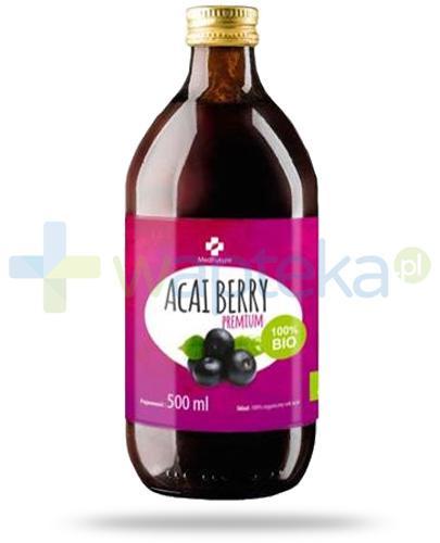MedFuture Acai Berry Premium Bio 100% sok 500 ml