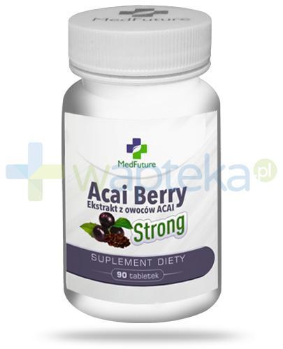 MedFuture Acai Berry Strong ekstrakt z owoców Acai 90 tabletek