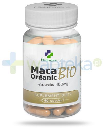 MedFuture Maca Organic Bio ekstrakt 400mg 60 kapsułek
