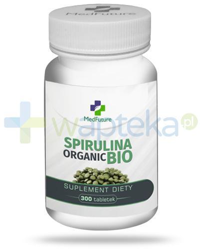 MedFuture Spirulina Organic Bio 1000mg 300 tabletek