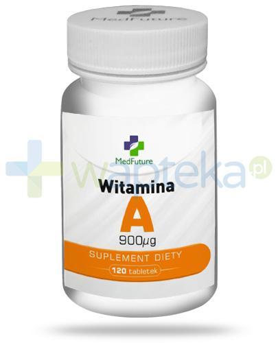 MedFuture witamina A 90mcg 120 tabletek