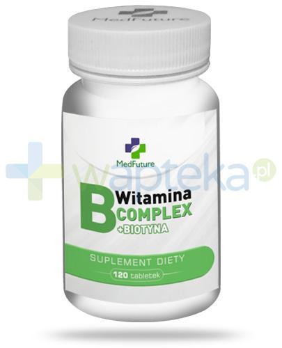 MedFuture witamina B Complex + Biotyna 120 tabletek