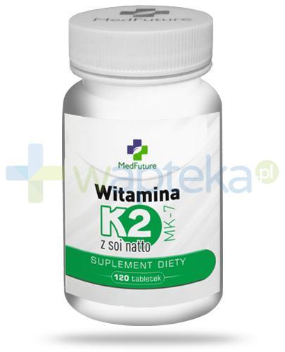 MedFuture witamina K2 MK-7 z soi natto 120 tabletek