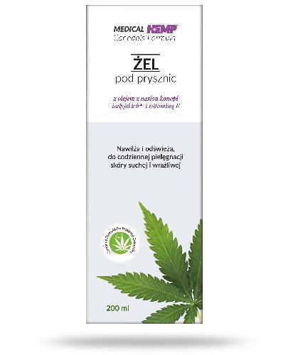 Medical Hemp Cannabis żel Pod Prysznic Z Olejem Z Konopi Witaminą E