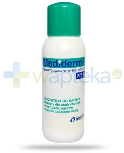 Mediderm koncentrat do kąpieli dla chorych na łuszczycę, egzemę i atopowe zapalenie skóry 275 ml