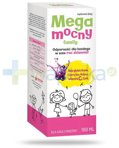 MegaMocny Family syrop na odporność 190 ml - NIELOT