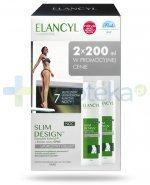 Elancyl Slim Design Uporczywy cellulit krem wygładzający nierówności na noc 2x 200 ml [DWUPAK] + Slim Design olejek wyszczuplający 25 ml [GRATIS]