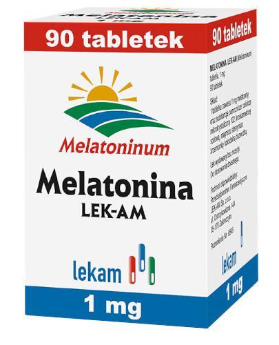 Melatonina 1 mg 90 tabletek