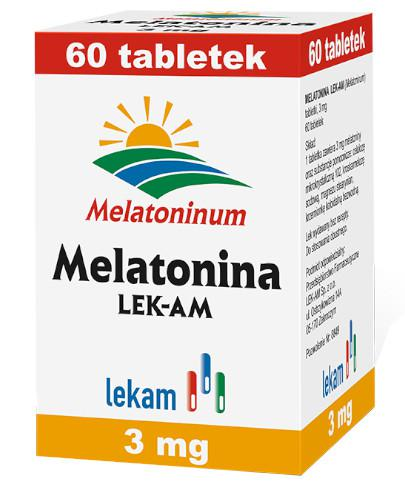 Melatonina 3 mg 60 tabletek