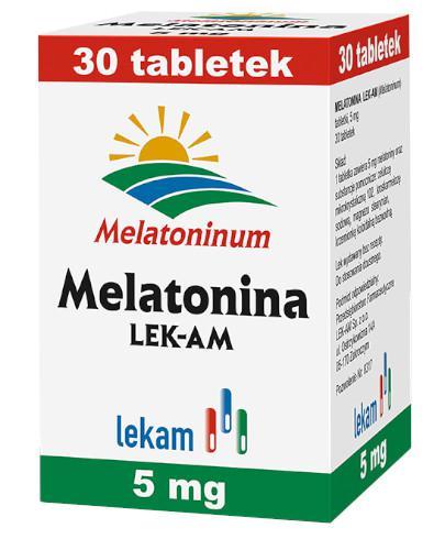 Melatonina 5 mg 30 tabletek