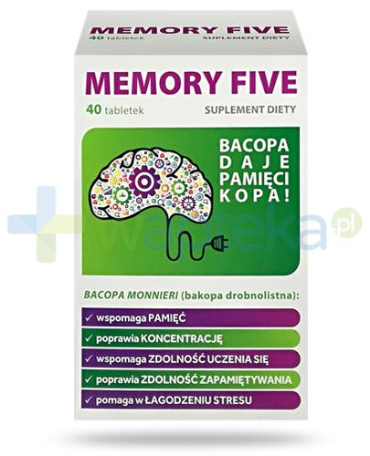 Memory Five 40 tabletek