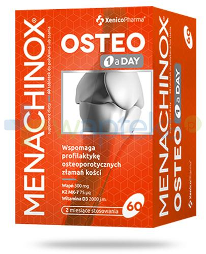 Menachinox Osteo 1 a Day 60 tabletek Xenico