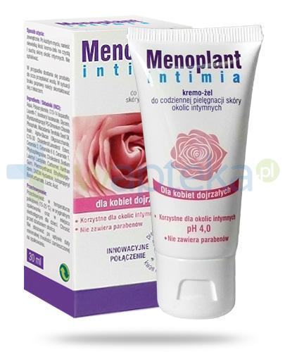 Menoplant Intima kremo-żel do codziennej pielęgnacji skóry okolic intymnych dla kobiet dojrzałych 30 ml