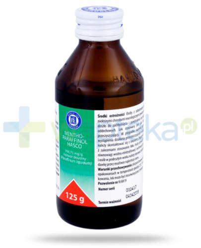 Mentho-Paraffinol płyn doustny 125 g