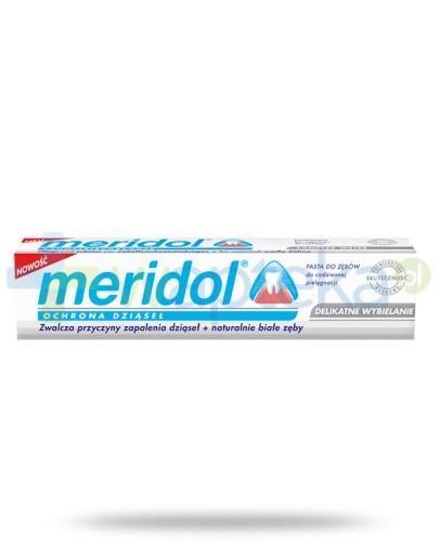 Meridol Ochrona dziąseł Delikatne wybielanie pasta do zębów 75 ml