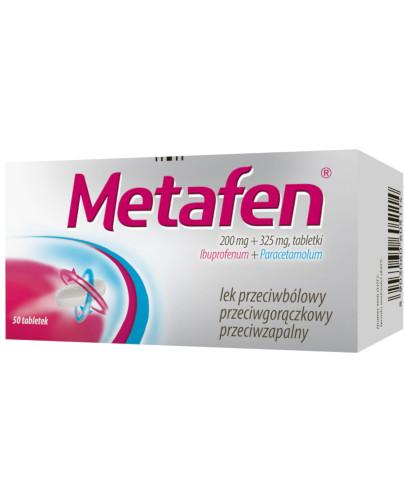 Metafen 200mg + 325mg 50 tabletek