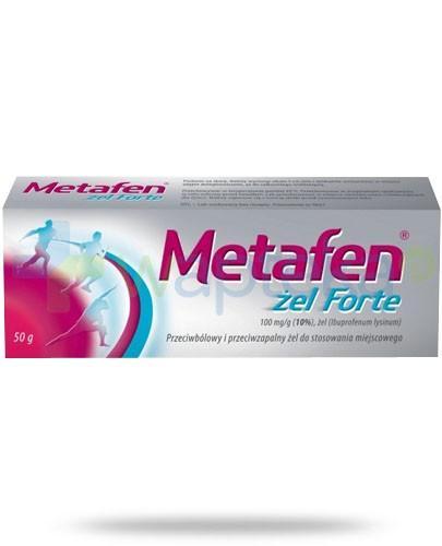 Metafen żel Forte 50 g - Krótka data ważności 28-02-2017