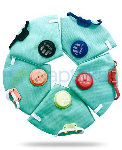 Miamed maska antysmogowa czaszowa z zaworem dla dzieci 1 sztuka