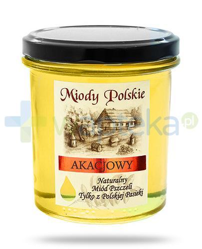 Miody Polskie miód naturalny akacjowy 400 g