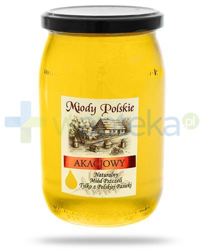 Miody Polskie miód naturalny akacjowy 950 g