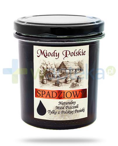 Miody Polskie miód naturalny spadziowy 400 g