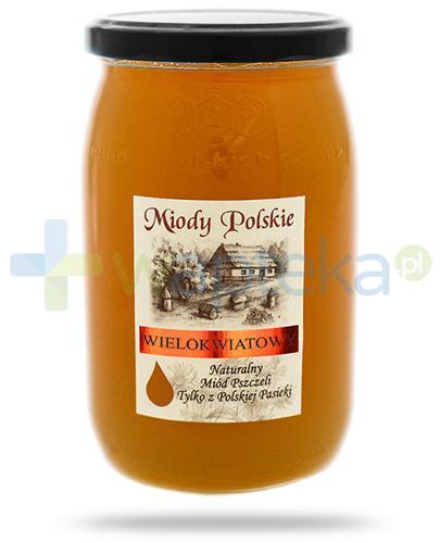 Miody Polskie miód naturalny wielokwiatowy 950 g