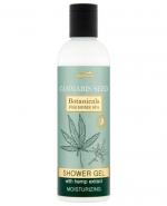 Joanna Botanicals Cannabis Seed Shower Gel, kremowy żel pod prysznic z ekstraktem z konopi 240 ml