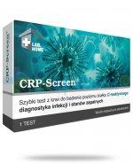 VedaLab Test CRP Screen, sprawdź przyczynę infekcji - wirus czy bakteria, zbadaj poziom białka CRP przed antybiotykiem, 1 sztuka