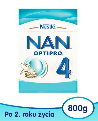 NESTLE NAN OPTIPRO 4 Mleko modyfikowane dla dzieci po 2 roku życia 800 g