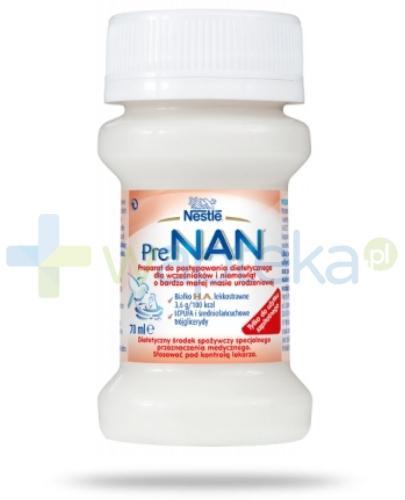 Mleko PreNAN dla wcześniaków 70 ml