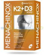 Menachinox K2 + D3 2000 witamina K2 pozyskiwana z natto 30 kapsułek