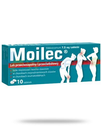 Moilec 7,5mg 10 tabletek