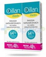 Oillan Med+ emulsja natłuszczająca do kąpieli dermatologicznej 2x 500 ml