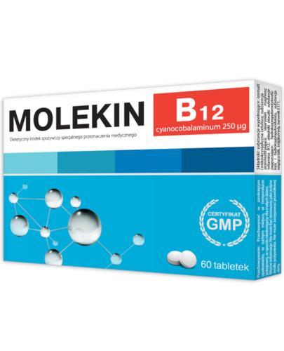Molekin B12 0,25 mg 60 tabletek