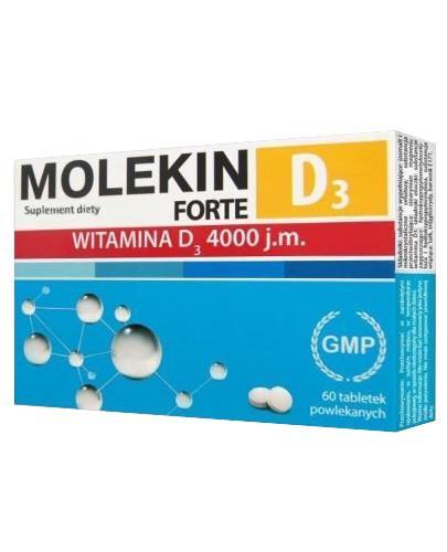 Molekin D3 Forte 4000 j.m. 60 tabletek