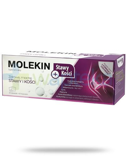 Molekin Stawy + Kości, 30 saszetek + 60 kapsułek [ZESTAW]